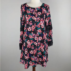 NWT Altar'd State XS Floral Long Sleeve Mini Dress